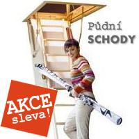 Půdní schody - AKCE
