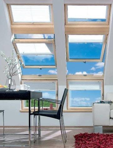 Strešné okná FAKRO