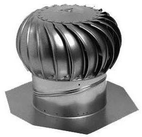 Ventilační střešní turbíny