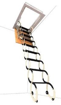 LUSSO - stahovací půdní schody