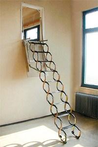 VERTICALE - schody do svislé stěny