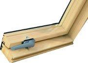 Profil okna ROTO - dřevěný profil