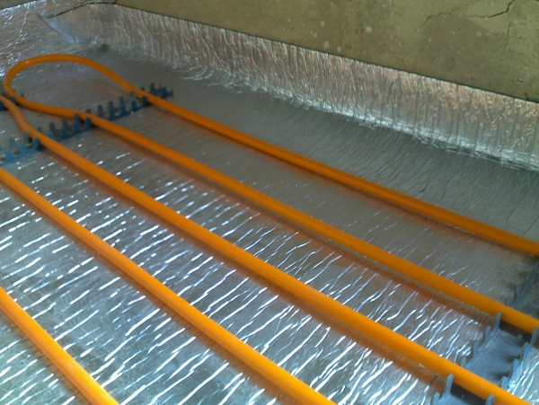 Podlahová tepelná izolace - DAPE Typ AP3