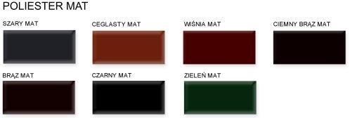 Barvy BLACHDOM - mat
