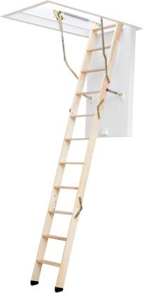 Skládací půdní schody DOLLE ClickFix 76