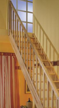 Zábradlí pro mlynářské schody Paris