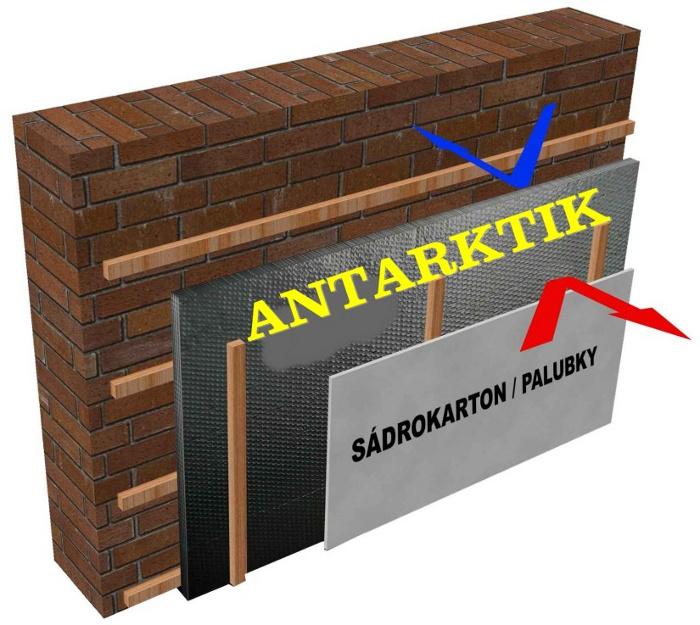 Tepelná izolace - Antarktik