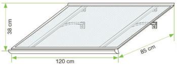 Rozměry vchodové stříšky Standard
