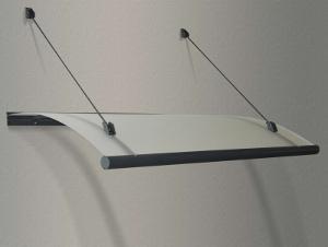 Vchodová stříška Rondo Glass