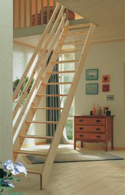 Půdní mlynářské schody Dolle Burgau
