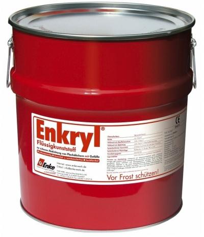 ENKRYL - tekutá hydroizolace na střechy se spádem