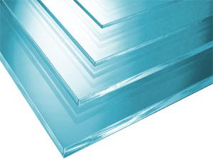 Plexisklo - akrylátové sklo v čiré barvě