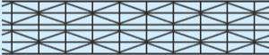 Komůrkový polykarbonát MARLON ST - TEN / 10 - struktura
