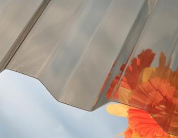 Trapézová deska z polykarbonátu Suntuf CS bronz