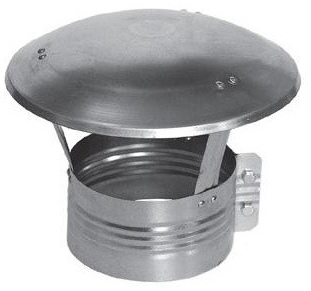 Komínová a ventilační stříška