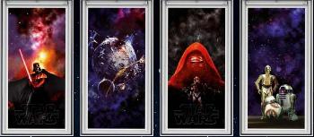 Kolekce vzorů - DKL Star Wars & VELUX Galactic Night Collection