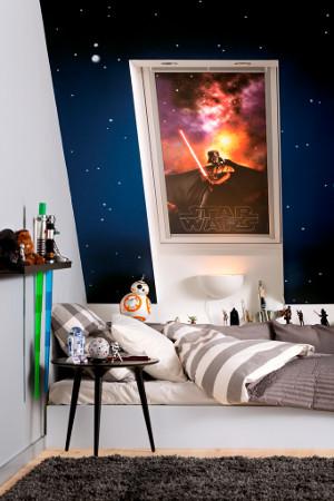 Designová kolekce snů rolet VELUX DKL Star Wars