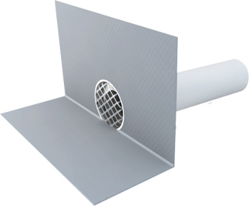 Boční vpusť - chrlič TOPWET PVC