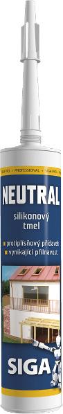 SIGA Pro Neutral - silikonový tmel