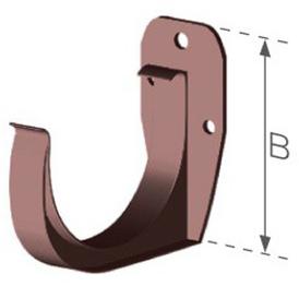 Plastový žlabový trn z PVC
