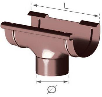 Žlabový kotlík PVC