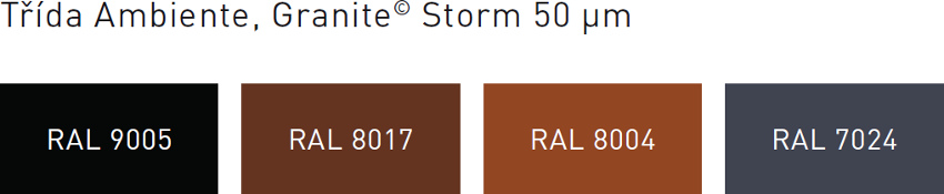 Barvy krytin Clara Granite Storm