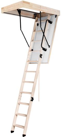 Skládací půdní schody OMAN Long Termo