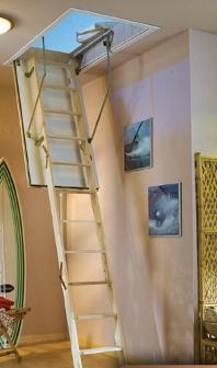 Protipožární skládací půdní schody DOLLE F30
