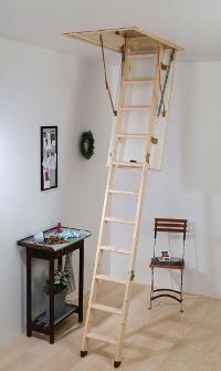 Skládací dřevěné půdní schody DOLLE Termo+