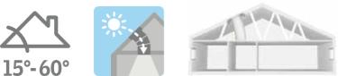 Světlovod VELUX TWR - šikmé střechy