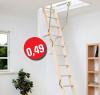 Půdní schody DOLLE Click Fix 76 - třídílné