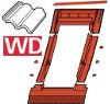 Lemování ROTO EDR Rx WD 1x1 ZIE