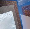 Plastové sklo Polystyrol strukturovaný