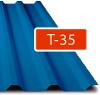 Trapézový plech Regamet T-35 / 0,50 - lesk