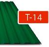 Trapézový plech Regamet T-14 / 0,50 - mat