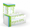 Fasádní polystyren styro EPS 70F tl. 12 cm - 1000 x 500 mm