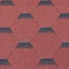 Hexagonal - červená