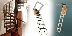 Schody, schodiště, půdní schody