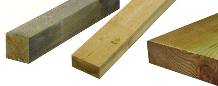 Impregnace dřeva