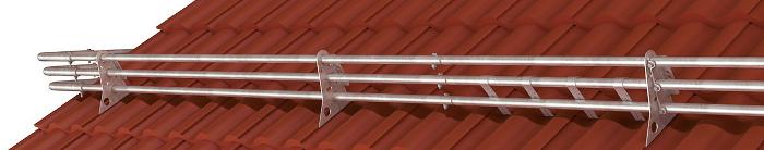 Sněhové trubkové zachytávače pro střechy