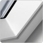 Bílá bezúdržbová kyvná střešní okna VELUX