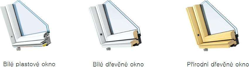 Rámy střešních oken Keylite