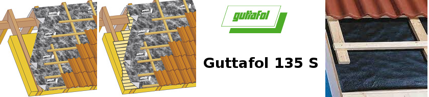 Difúzní fólie Guttafol DO 135 S