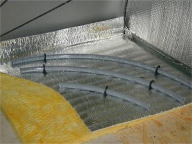 Podlahová tepelná izolace - DAPE Typ AP5