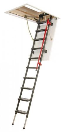 Skládací třídílné půdní schody LML Lux