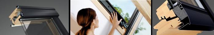 Izolace rámu okna VELUX