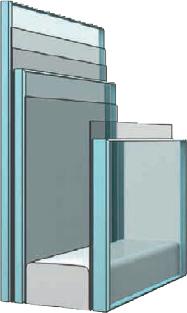Zasklení - střešní okno VELUX GPL 3070