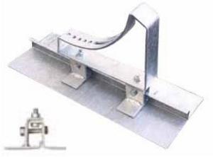 Vzpěra pochůzné lávky pro drážkové krytiny