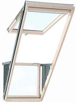 Střešní balkon VELUX GDL Calibro