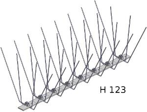 Hrotový systém H 123